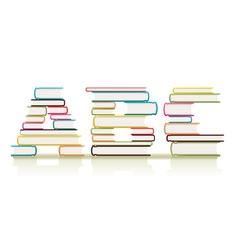ABC Books vector image