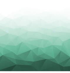 Abstract Gradient Green Geometric Background vector image