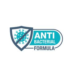 Antibacterial formula stamp with crossed virus vector