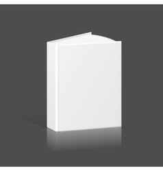 Blank Book Binder or Folder Template vector image