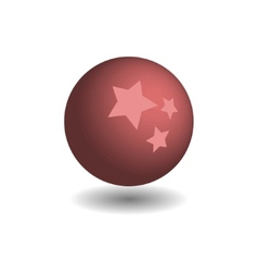 Childrens lilac ball vector image