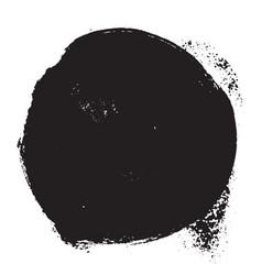 circle grunge texture vector image