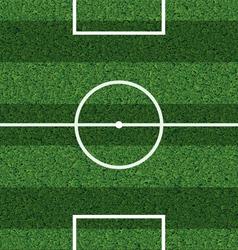 Footbal field vector