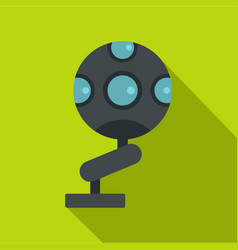 Game device icon flat style vector