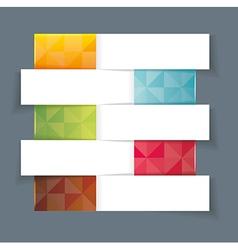 Modern Design template horisontal banners vector image