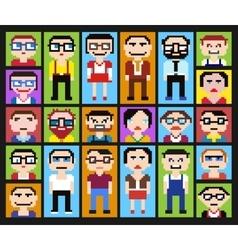 pixel graphics vector image