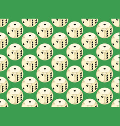 Seamless pattern with rounded assets vector