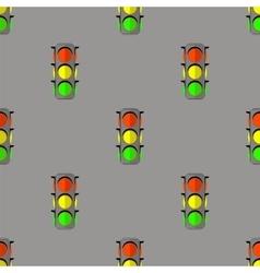 Traffic Light Seamless Pattern vector image vector image