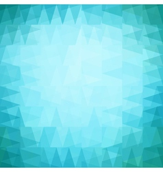 Colorful seamless pattern of geometric shapes vector image