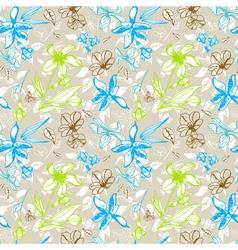 plant ornament vector image