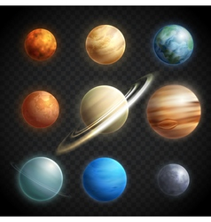 1607i040019Pm003c30Planet set realistic vector image