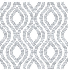Abstract seamless pattern with hand drawn shapes vector