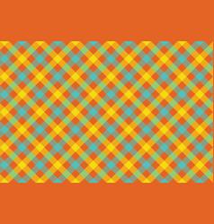 Color check diagonal fabric texture background vector