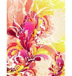 Colorful candies splash vector image