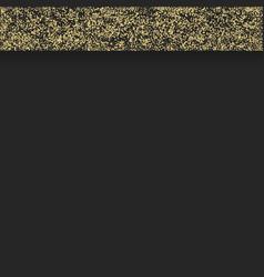 gold border on black vector image