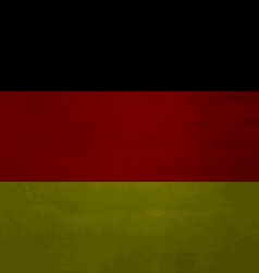 Grunge messy flag german vector