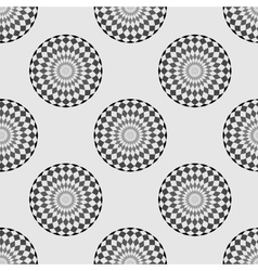 Pattern circle background vector image