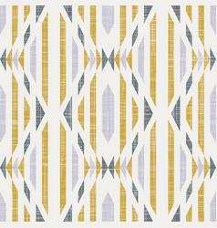 Seamless kilim geo design motif tile vector