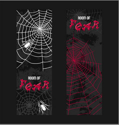 Web spider pattern spidery halloween vector