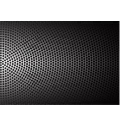 abstract metal circle mesh pattern vector image