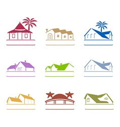 house signs vector image