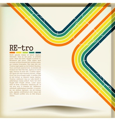 Retro Copyspace Background vector image vector image