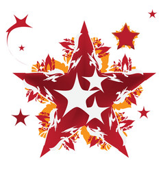 Star design vector image vector image