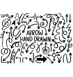 0059 hand drawn arrows vector