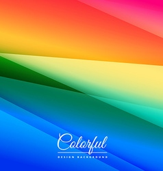 Beautiful colorful background design vector