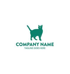 cat logo-15 vector image vector image