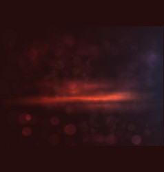 Dark background with bokeh and nature light vector