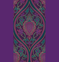 Elegant purple pattern vector
