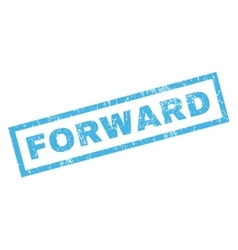 Forward Rubber Stamp vector