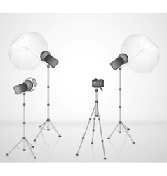 Photo studio vector