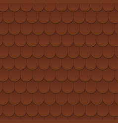seamless pattern background of the roof vector image