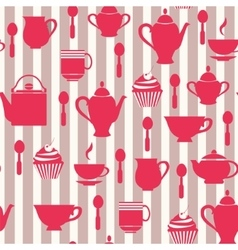 Teatime Background vector image