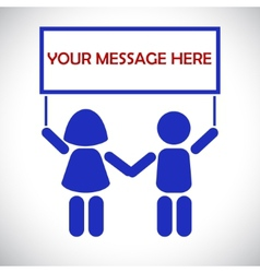 The message from the children vector