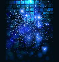 template background with sparkles vector image