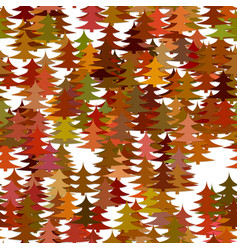 color abstract random autumn forest background vector image