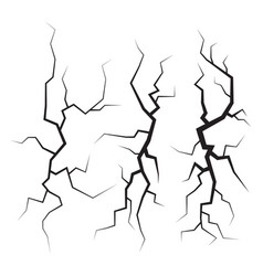 Crack on surface vector