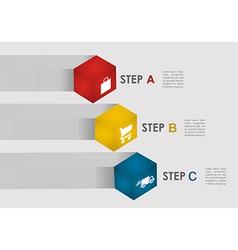 E commerce steps info graphics vector