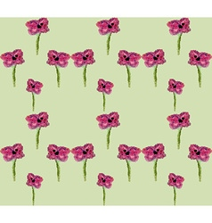Mosaic flower pattern2 vector image
