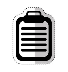 order medical isolated icon vector image