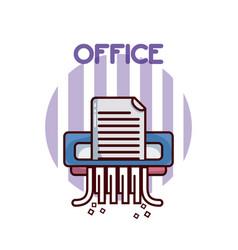 Sheet office element vector