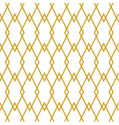 tile pattern yellow and white wallpaper background vector image