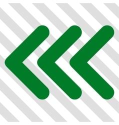 Triple Arrowhead Left Icon vector