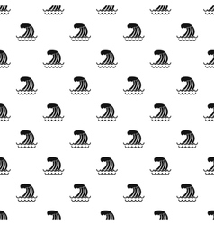 Wave pattern simple style vector