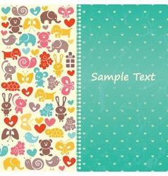Baby blue background vector image