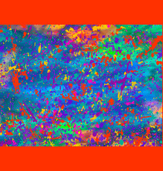Abstract color background trendy template vector