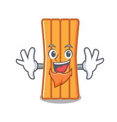 Elf air mattress character cartoon vector